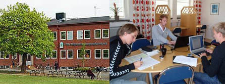 Adults studying at Nils Holgersson Vuxenutbildning